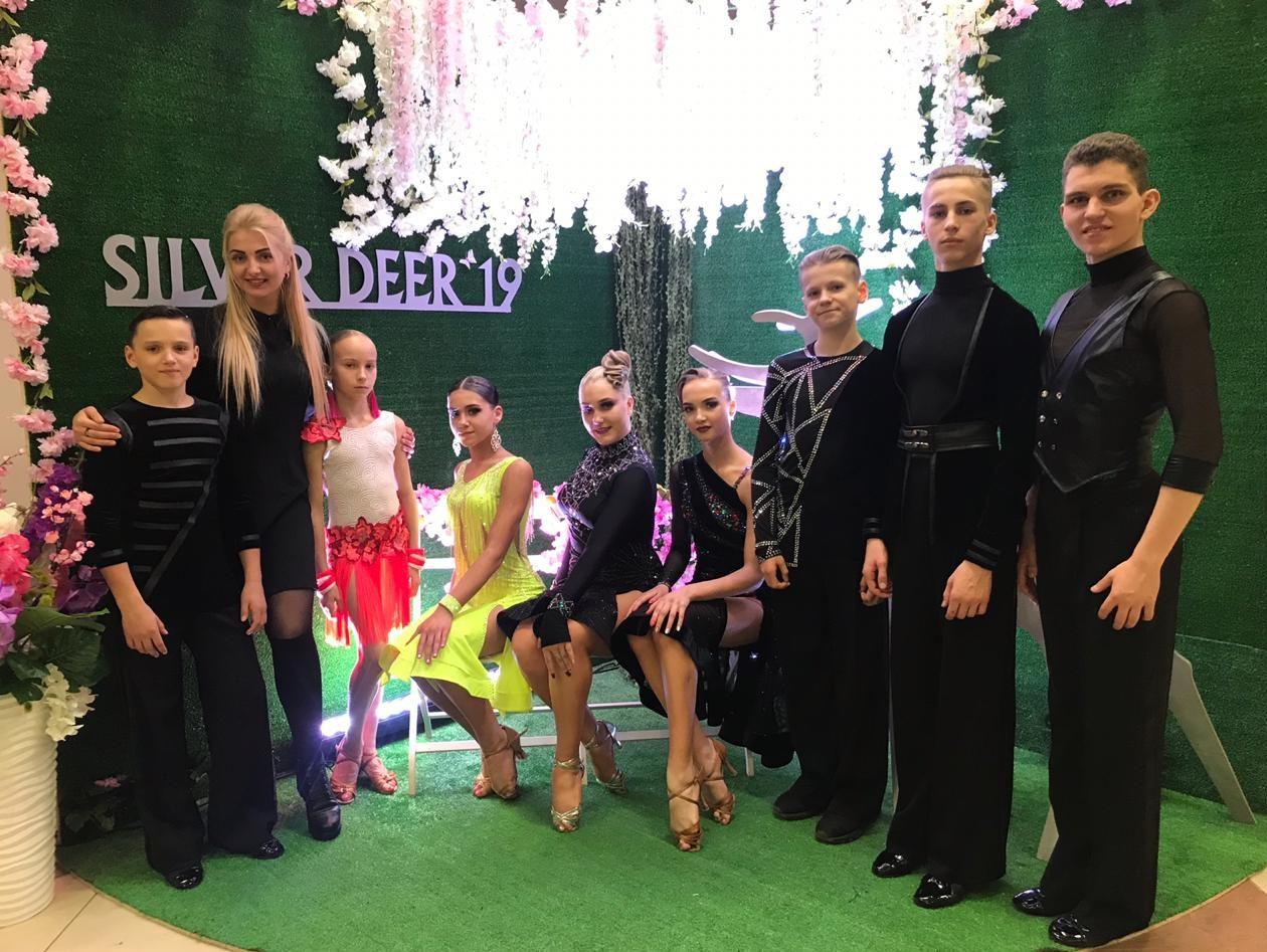 Соревнования по танцевальному спорту «Серебряный олень-2019»