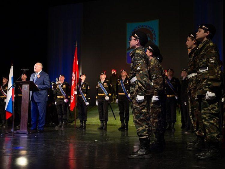 Торжественный приём Губернатора Камчатского края, посвящённый 74 годовщине Победы в Великой Отечественной войне