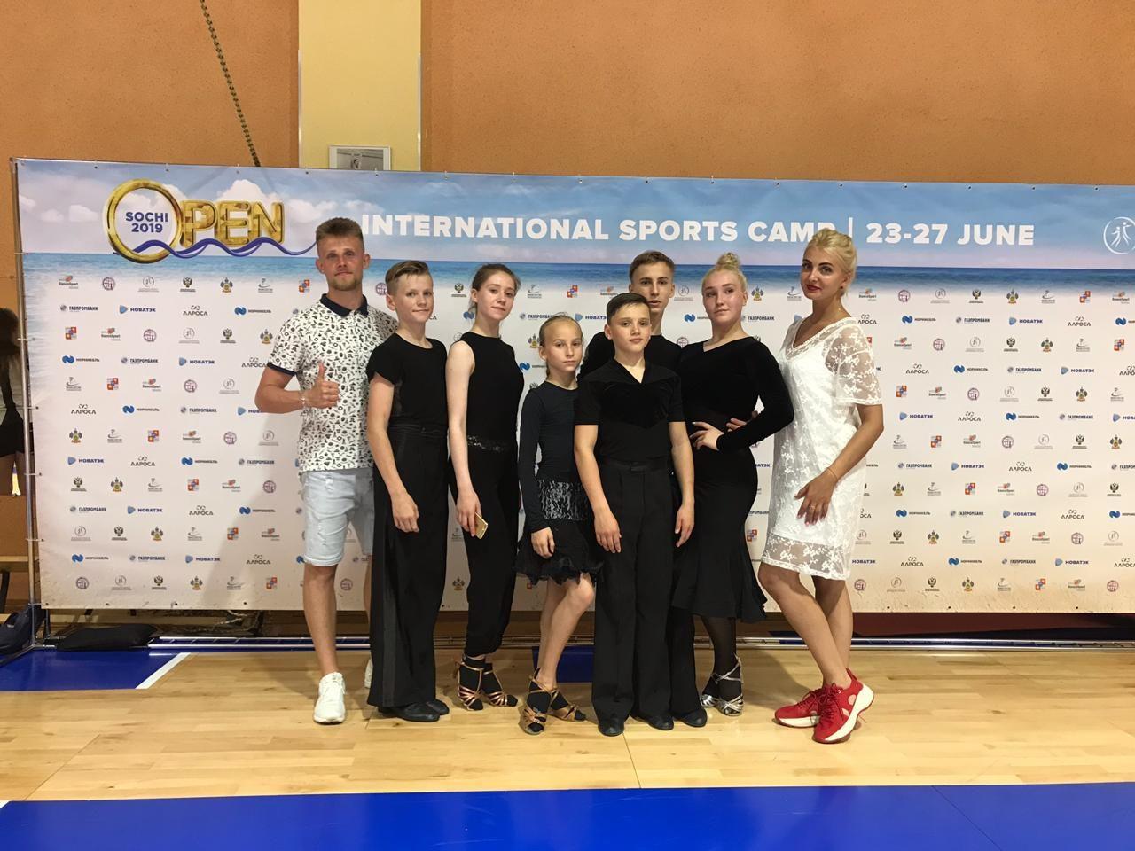 Спортсмены танцевально спортивного клуба «Гейзер» приняли участие в тренировочных сборах