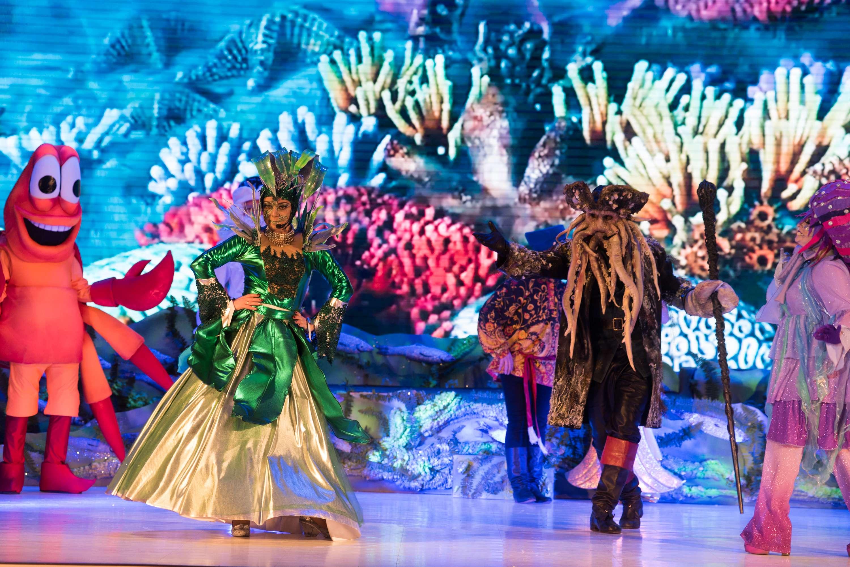 Представление «Древнее заклятие или чудеса подводного царства»