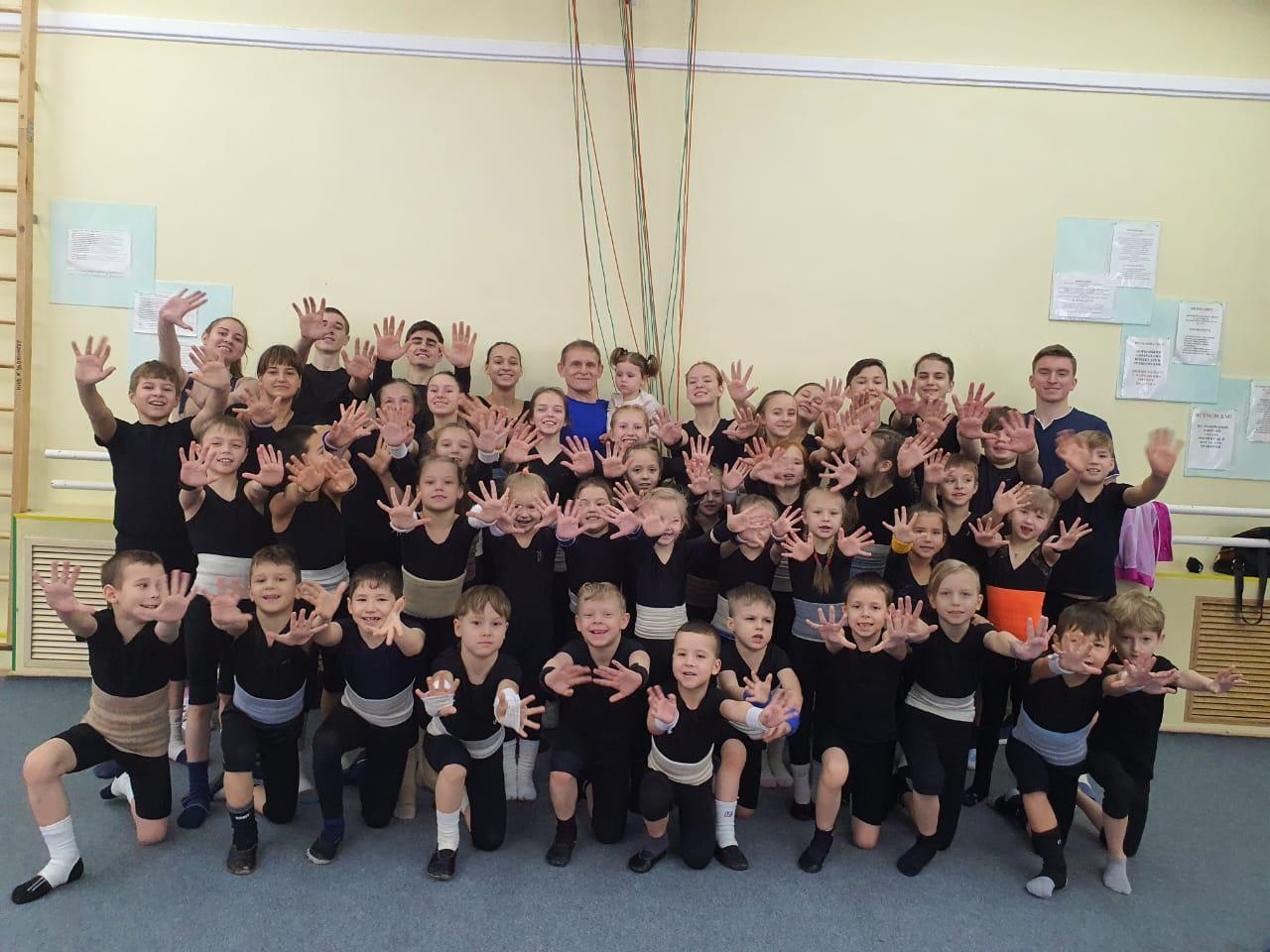 Заслуженный детский цирк «Саквояж» объявляет набор детей